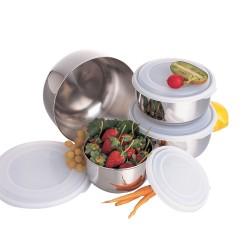 Set zdjelica sa plastičnim poklopcima